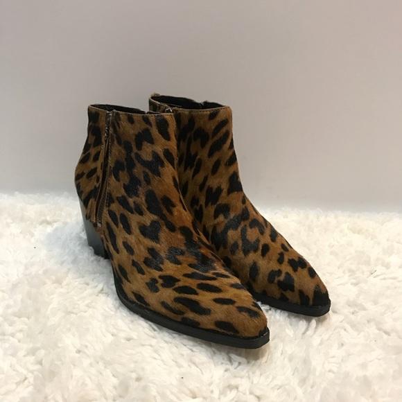 d163fc978c3fd Sam Edelman Leopard Walden Cow Hair Boots. M 5c12edf6194daddf935e7940